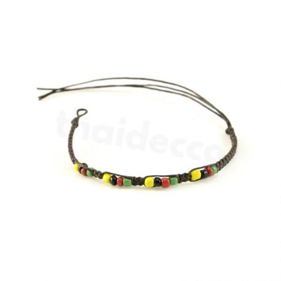 Knytarmband - Rastafari