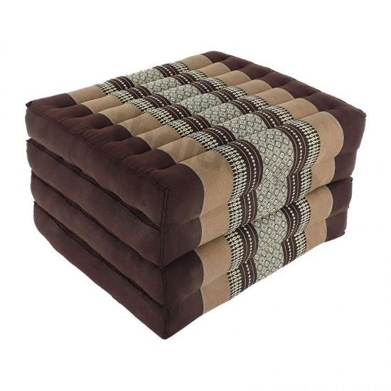 Floor mattress / Block model 190x55x10cm - Brown/Beige