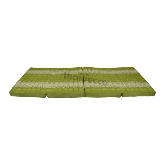 Floor mattress / Block model 190x80x10cm - Green/White