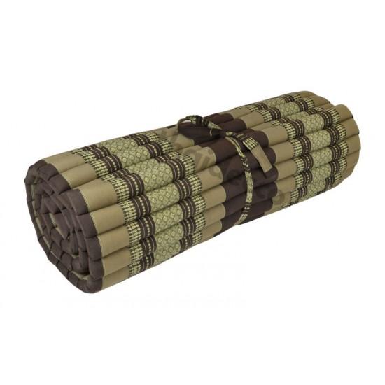 Floor mattress / Roll up model 200x100x5cm - Brown/Beige
