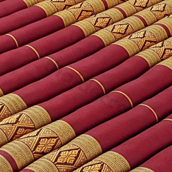Floor mattress / Roll up model 200x100x5cm - Red / Gold