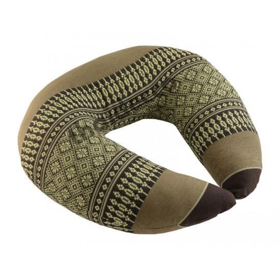 Headrest pillow Ring - Brown/Beige