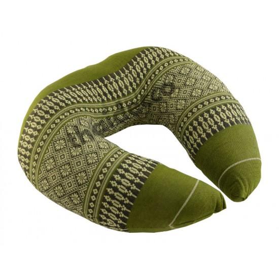 Nackstödskudde Ring - Grön/Vit