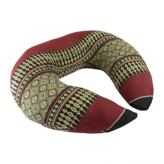 Headrest pillow Ring - Black/Red