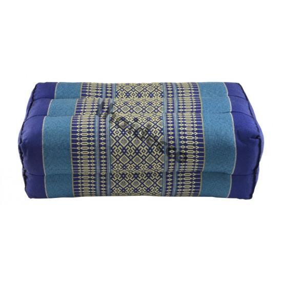 Block pillow 36x18x12cm - Blue/White
