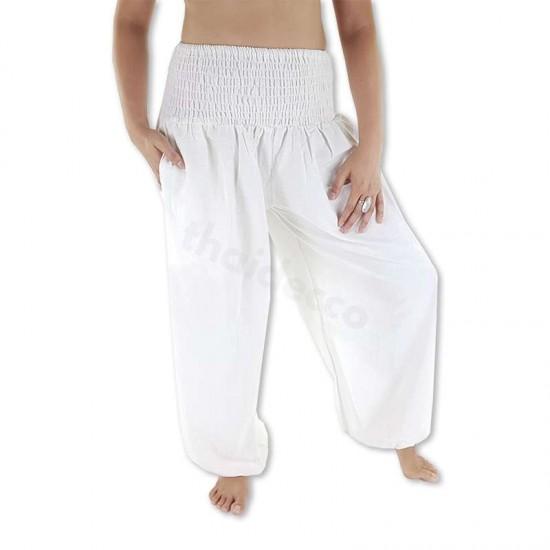 Balloon pants Cotton - White