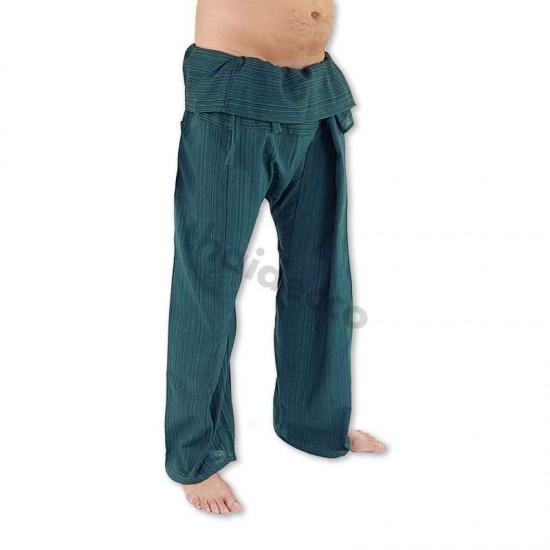 Fiskarbyxa Bomull XL - Grön