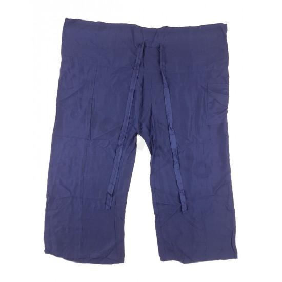 Fisherman Pants Rayon - Dark Blue