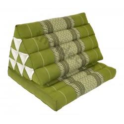 Thaikudde med en liggdel - Grön/Vit