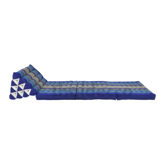 Köp thaikudde med tre sittdelar i färg blå och vit