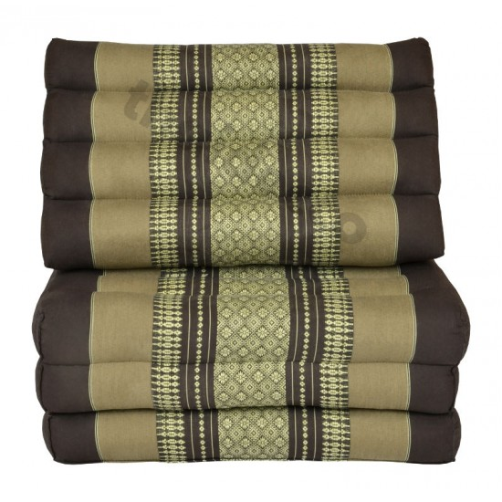 Köp thaikudde med tre sittdelar i färg brun och beige