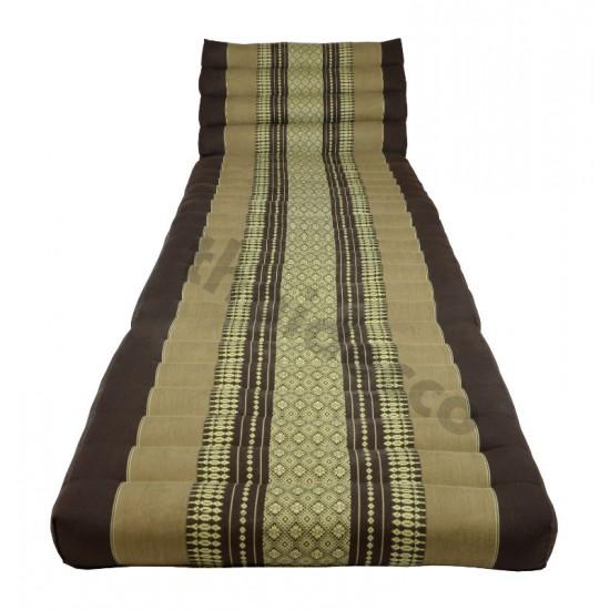 Köp thaikudde och golvkudde med tre sittdelar i färg brun och beige