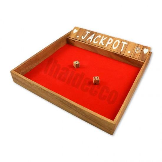 Shut The Box / Jackpot Jumbo - Red