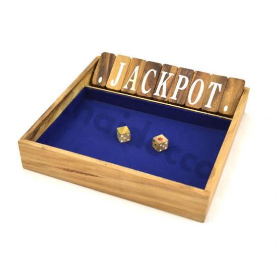Shut The Box / Jackpot Large - Blue