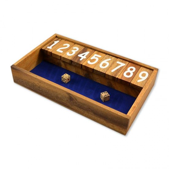 Shut The Box / Jackpot - Blå