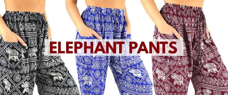Elephant Pants from Thaidecco