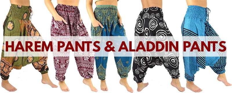 Harem pants & Aladdin Pants from Thaidecco