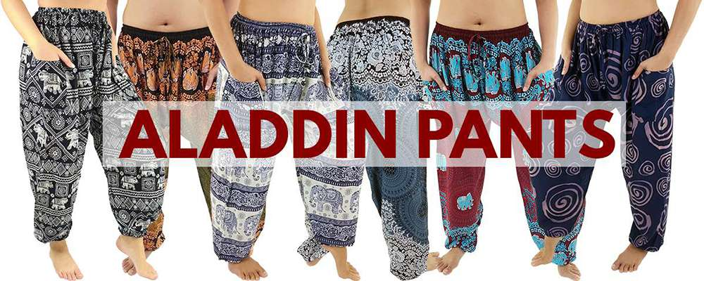 Aladdin pants from Thaidecco