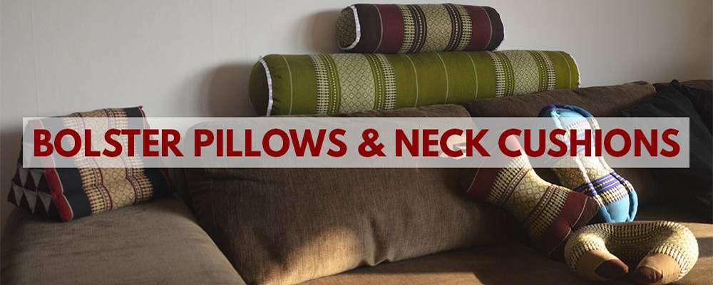 Bolster pillows & Neck cushions