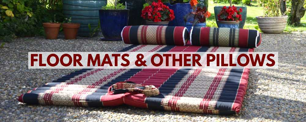 Floor mattresses and other pillows & cushions from Thailand